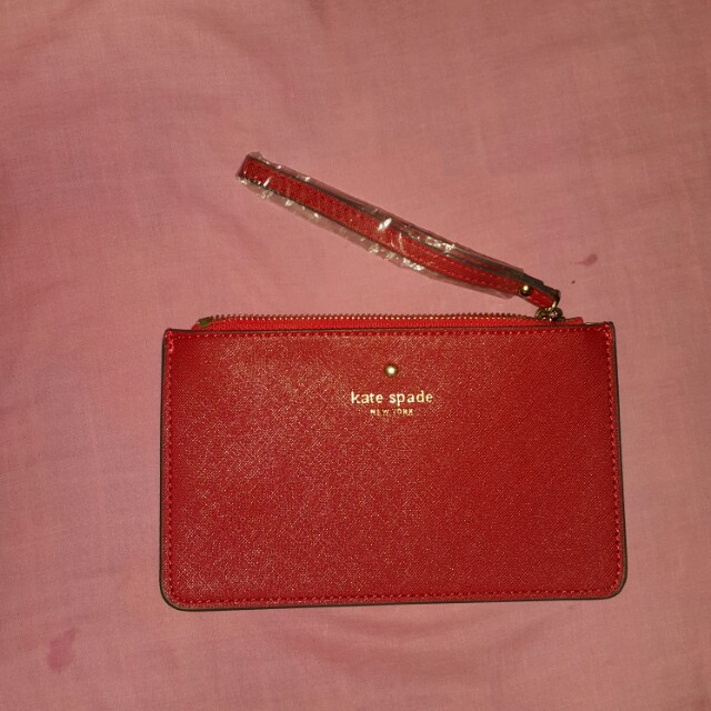 Kate Spade Red Pouch/Wallet