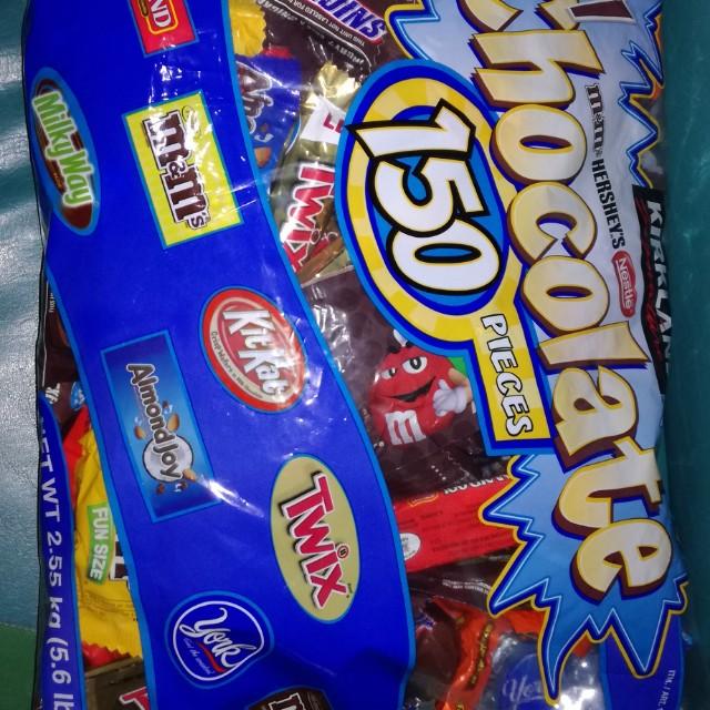 🎉💞 Kirkland Signature All Chocolates 150pcs Pack