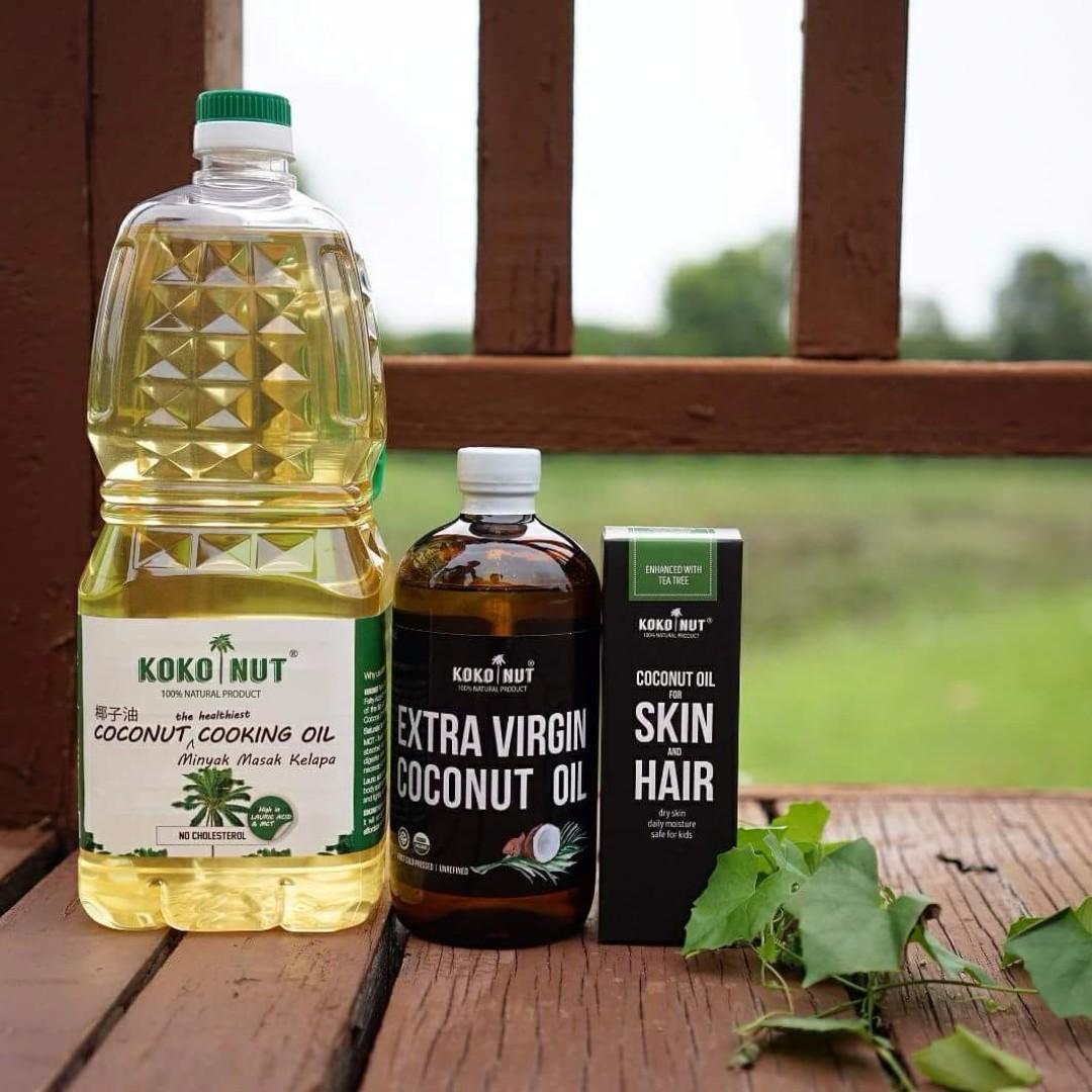House Of Organix Extra Virgin Coconut Oil 1 Litre Minyak Kelapa Lemonilo 100 Organic Vco 250 Ml 473ml Source Photo