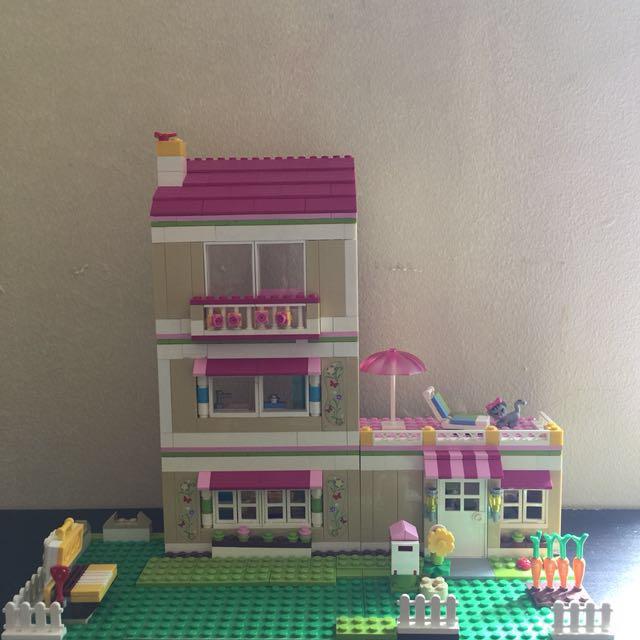Lego friends house authentic