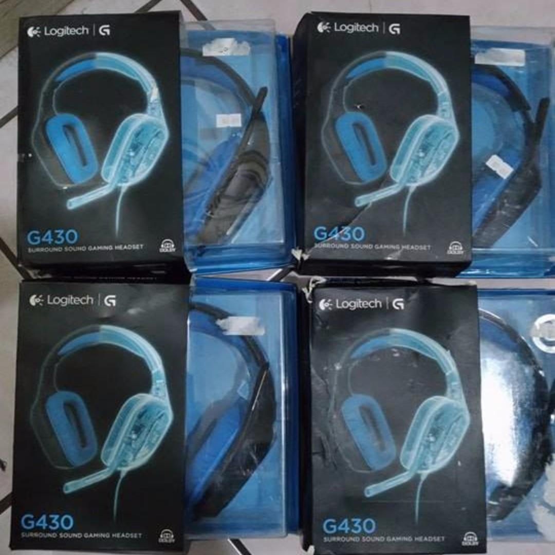 Logitech G430 7 1 Surround Gaming Headset (2nd Hand