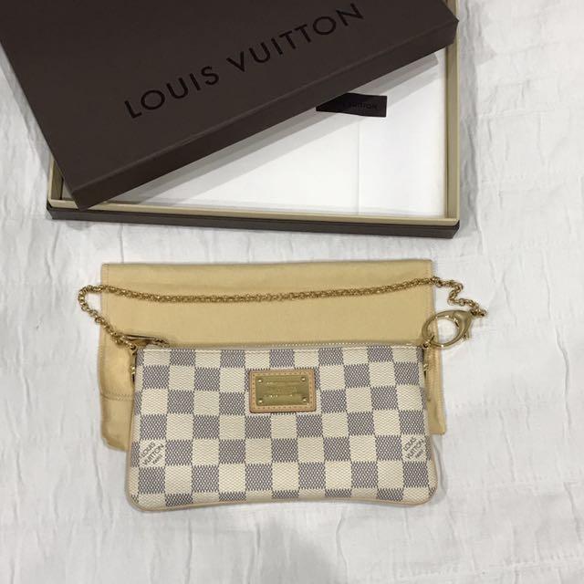 Louis Vuitton White Monogram Bag