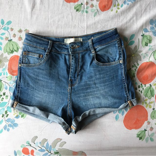 Mango highwaist shorts