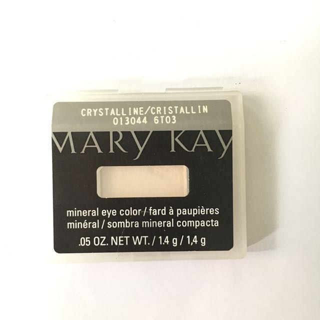 Mary Kay Mineral Eye Color Crystalline