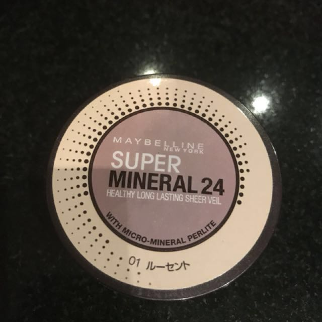 Maybelline super mineral 24 powder