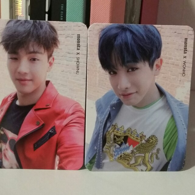 Monsta X Official Shine Forever photocards kpop