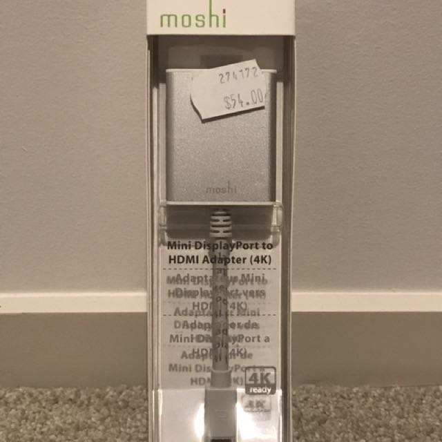 Moshi Mini DisplayPort to HDMI Adapter (4K)