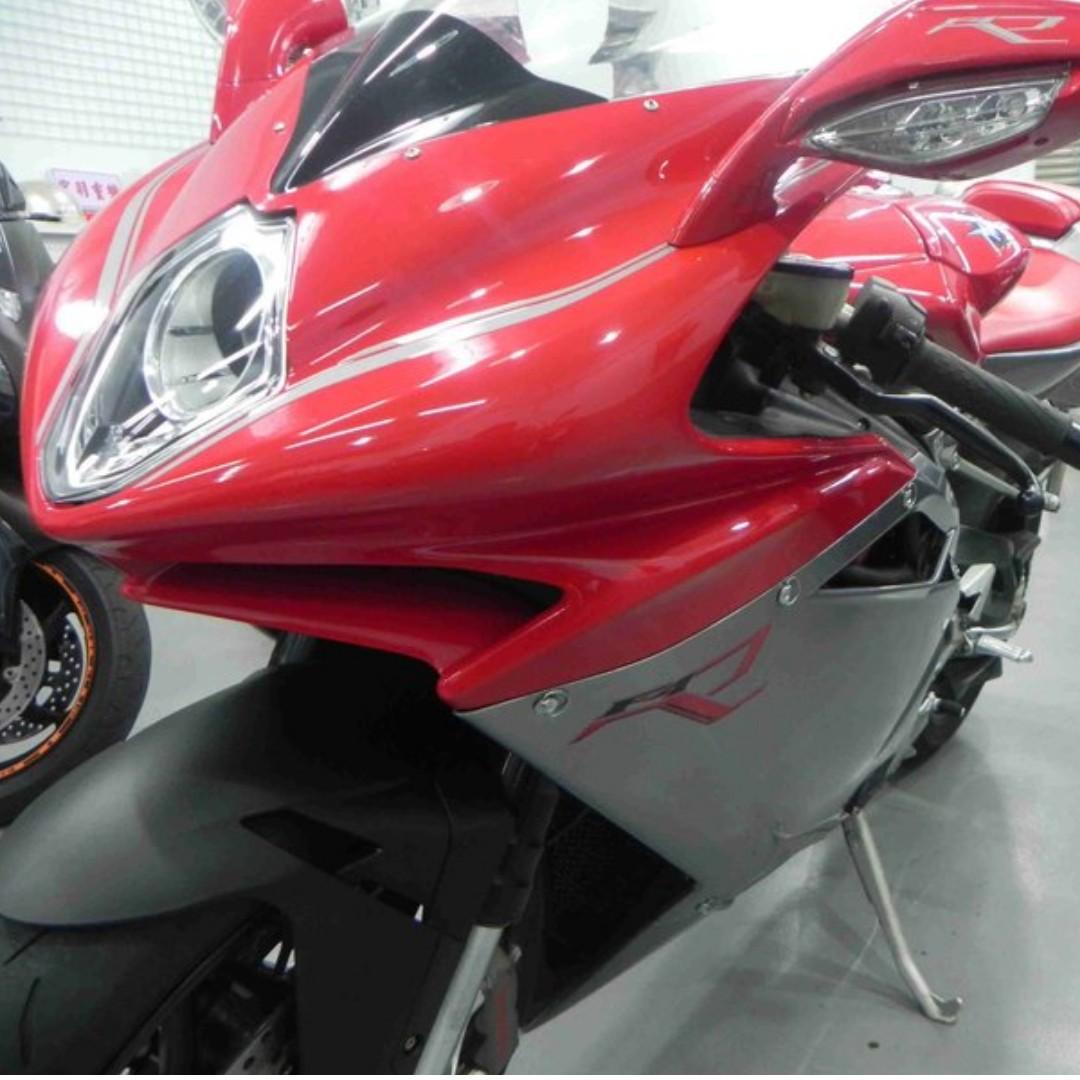 MV Agusta F4R 2012出廠 紅色