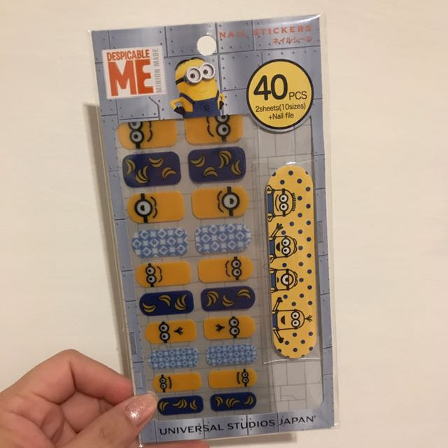 Nail Stickers Despicable Me (ORIGINAL)