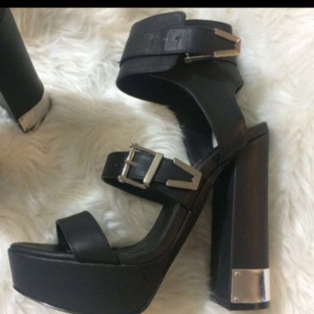Nasty gal heels size 6.5