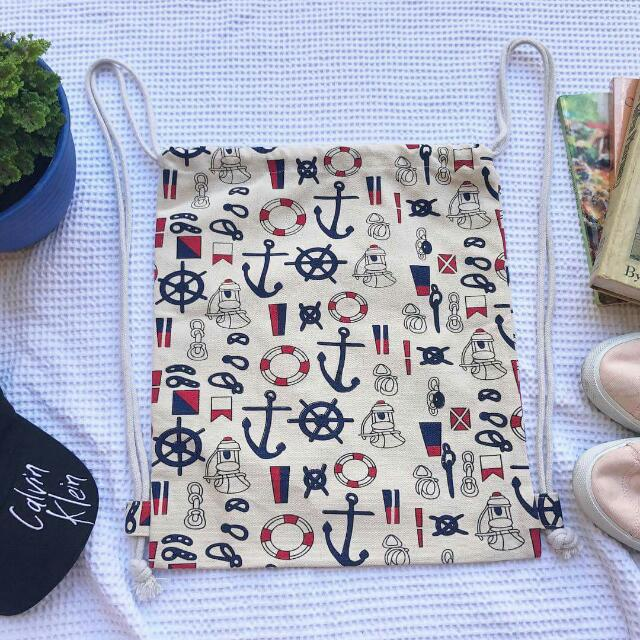 Nautical String Bag
