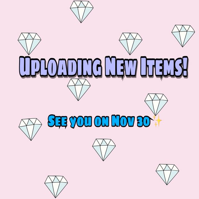 New Items! Starting 50-150 Only!