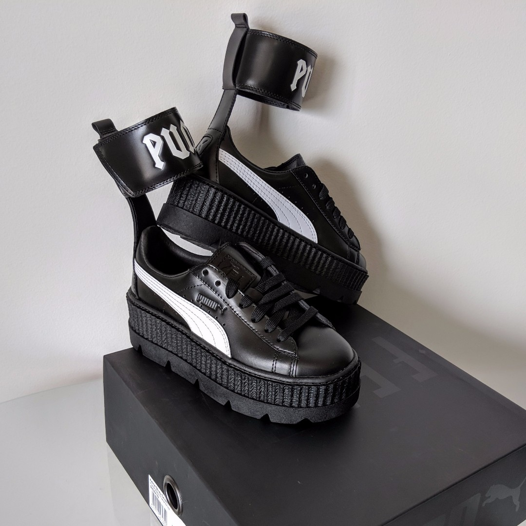 best service f932d 18ae8 NEW RIHANNA FENTY X PUMA Ankle Strap Sneakers, Women's ...