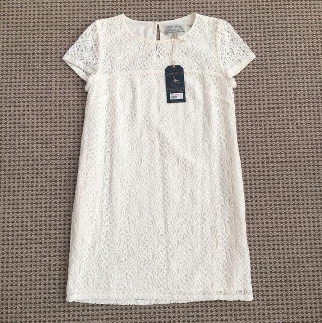 New White lace dress