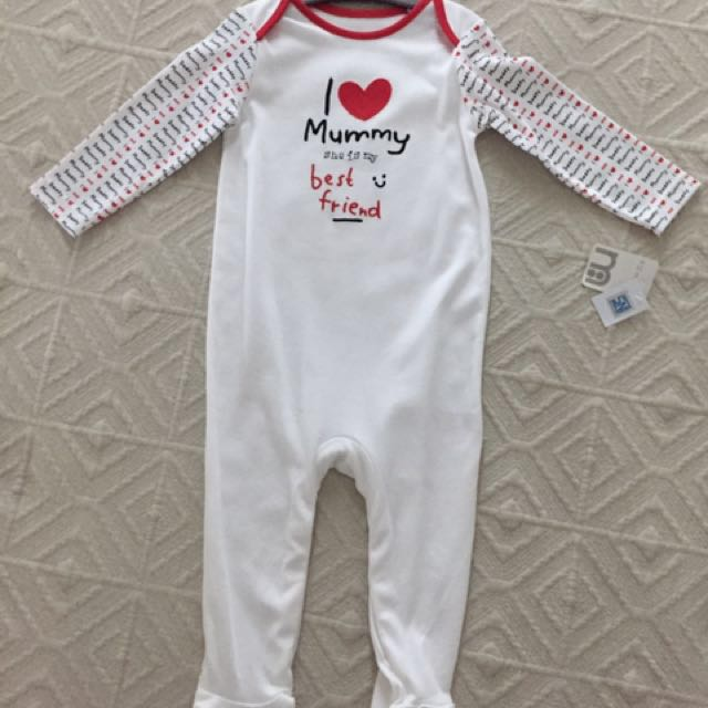 Night bodysuit - Mothercare - NEVER USED