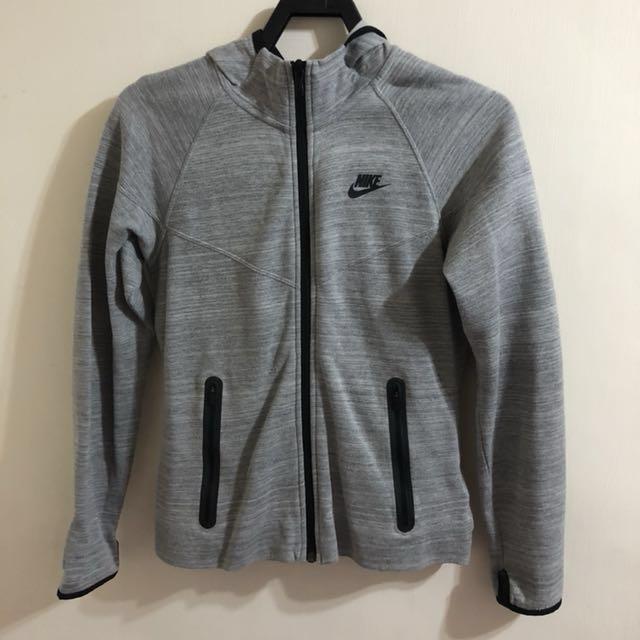 Nike TECH FLEECE連帽外套 女款 (灰) -L