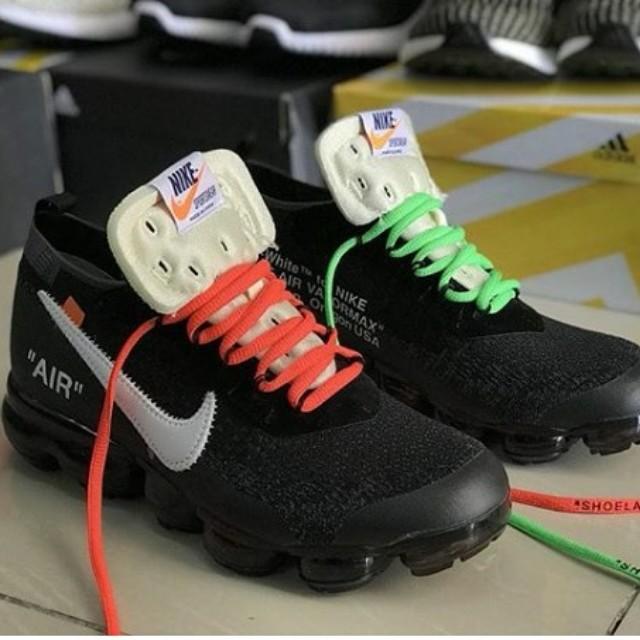 433872f677 NIKE VAPORMAX X OFF WHITE COPY ORI 1:1 👟, Men's Fashion, Footwear,  Sneakers on Carousell