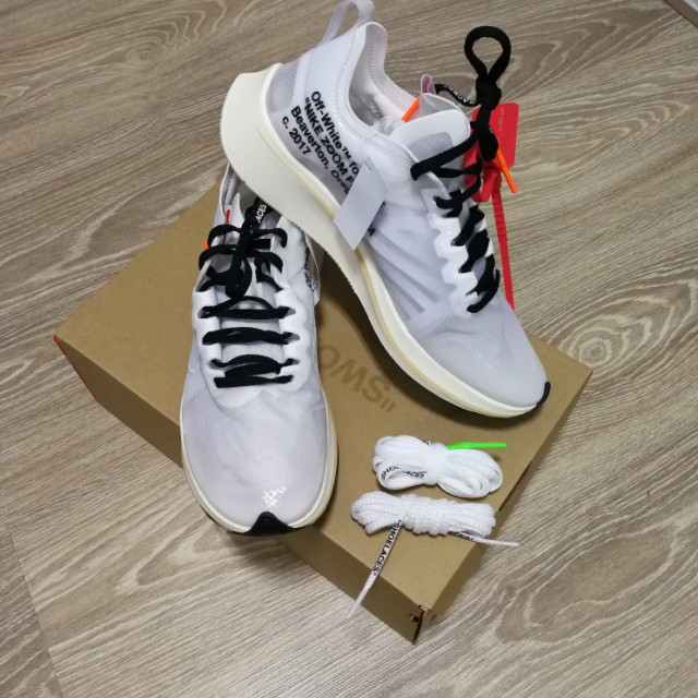 96b52ad08a271 Reduced price!!! Nike X Off-White Zoom Fly (Size US 8)