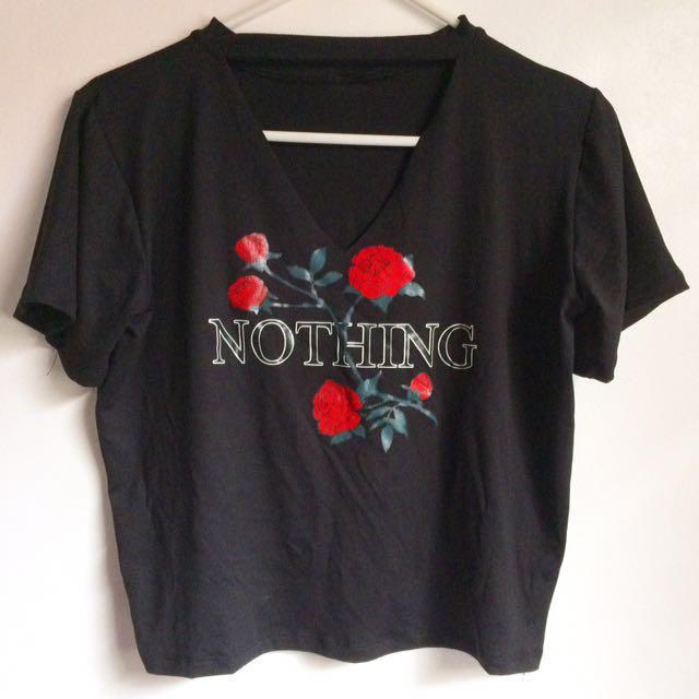 Nothing Choker Shirt