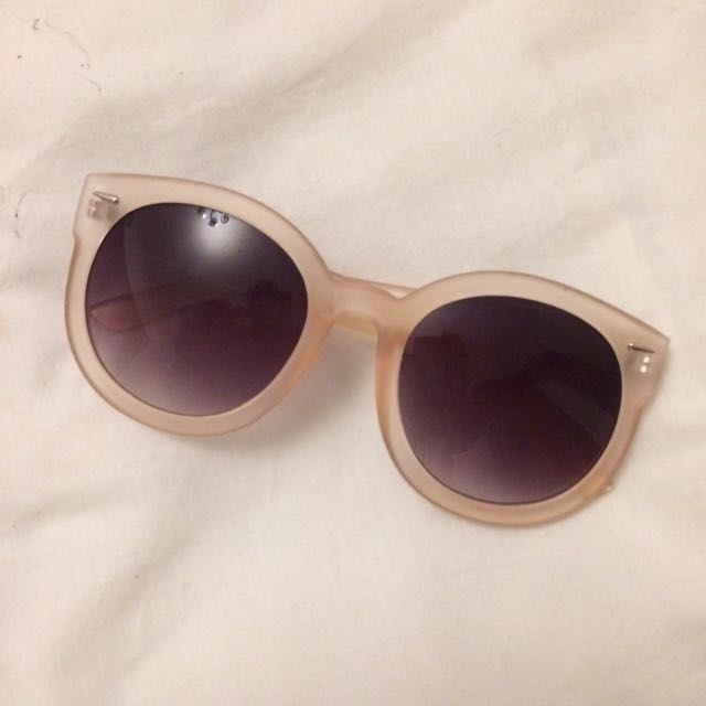NWOT Cotton On Rubi clear pink sunglasses