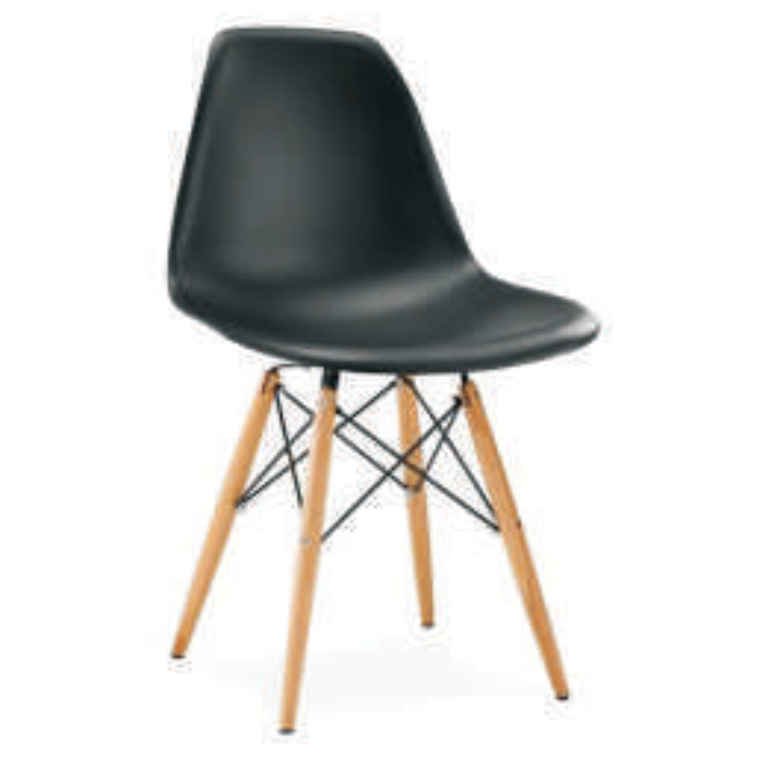 office furniture - wooden legs chair 1501