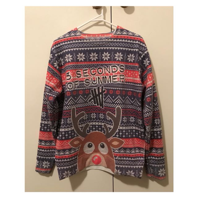 Original 5 Seconds of Summer Christmas Sweater