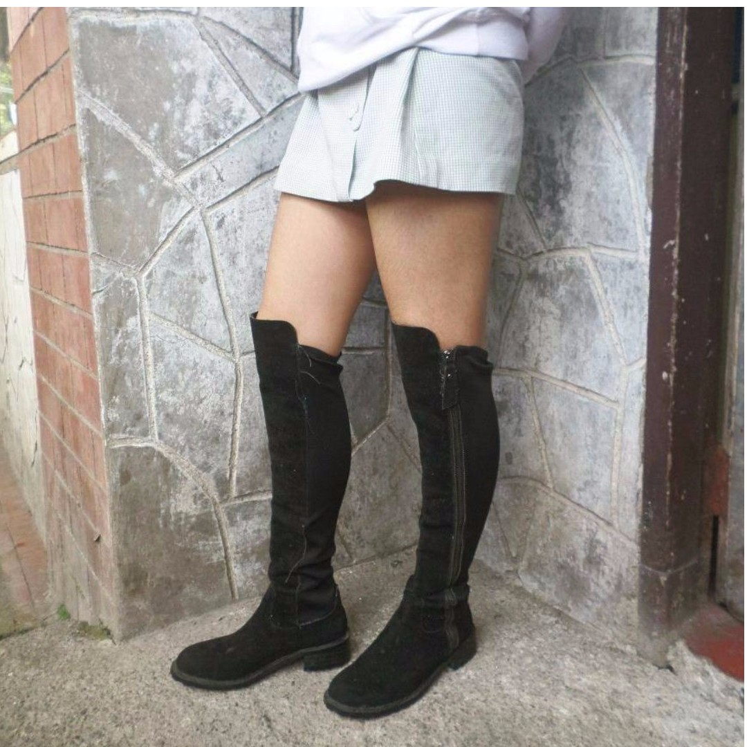 Over the knee high boots 50/50