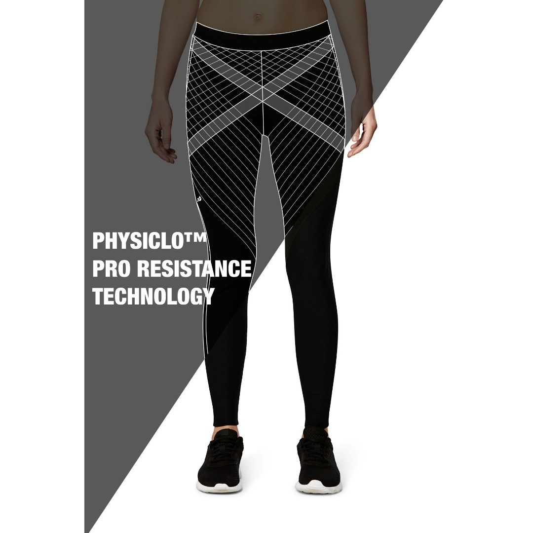 93e56c68c4 Physiclo Pro Resistance Tights for Women (Electric Purple), Sports, Sports  Apparel on Carousell