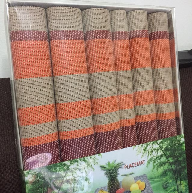 Placemats - 2 available (set of 6)