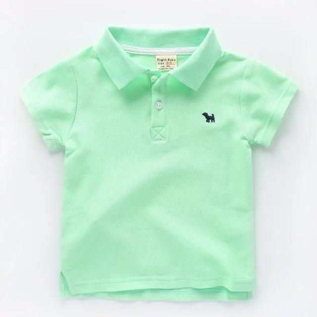 純色短袖POLO衫