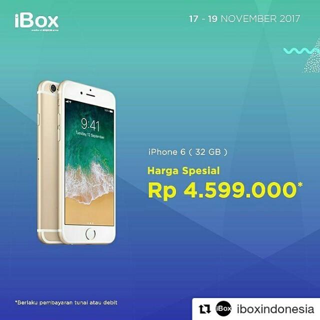 Promo Apple iPhone 6 32GB 3fc31ee387