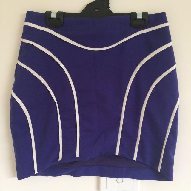 Purple Mini Skirt. GREAT CONDITION.