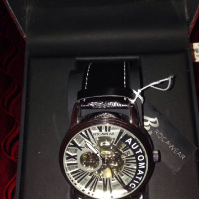 ROCAWEAR watch automatic Japan movement authentic