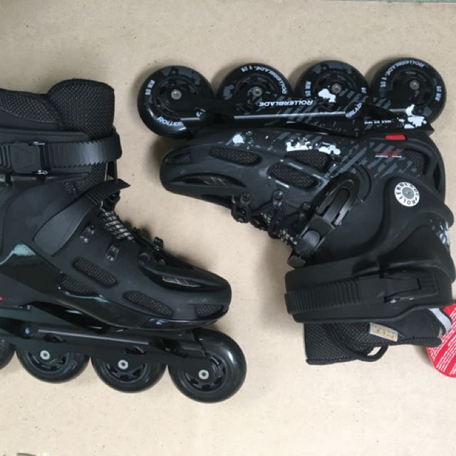 ... Sepatu Roda 2 in 1 Adjustable Wheel. Source · Source · RollerBlade Twister Inline Skates Size 8US Sports Scooters