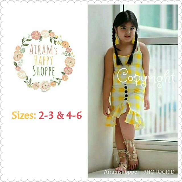 SARAH SKIRT SETS (Yellow)