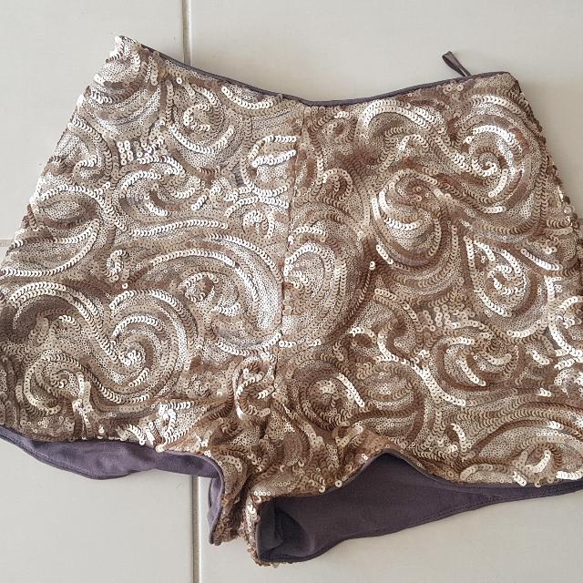 Sequin Shorts Size 8