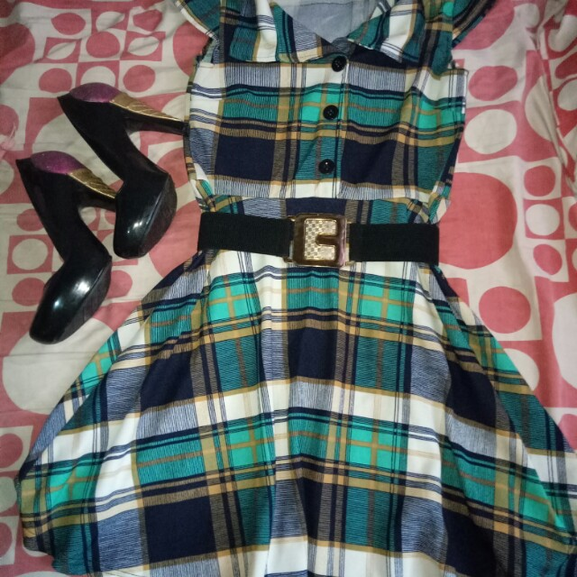 Sexy dress w/belt