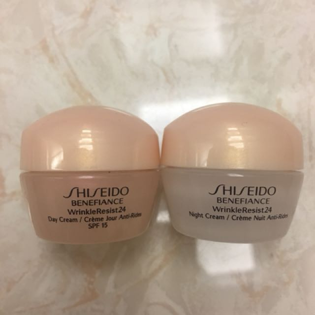 Shiseido empty case 2tube kecil