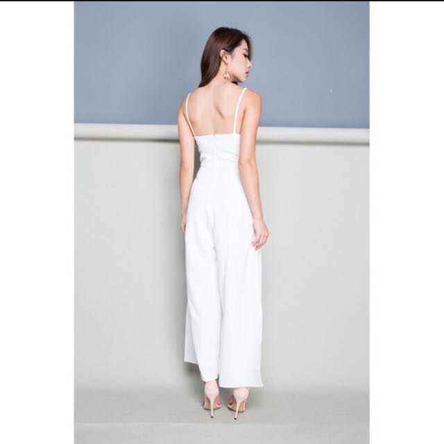 28584c9fab9b Shop Wild Peonies Katherine Playsuit in White (S)