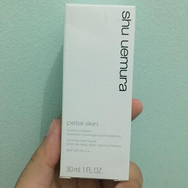 Shu Uemura Petal Skin Foundation