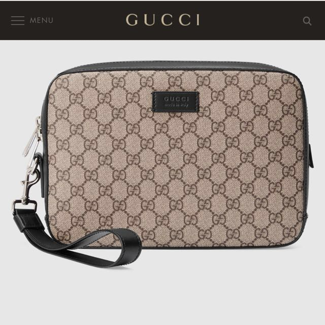 104838c5862 SOLD  Gucci GG Supreme Men s Bag BN and Authentic
