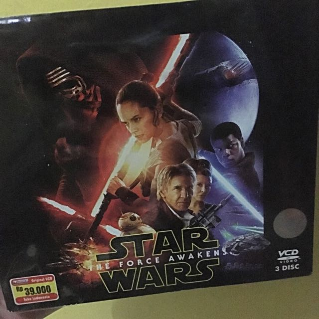 Star Wars The Force Awakens VCD Original