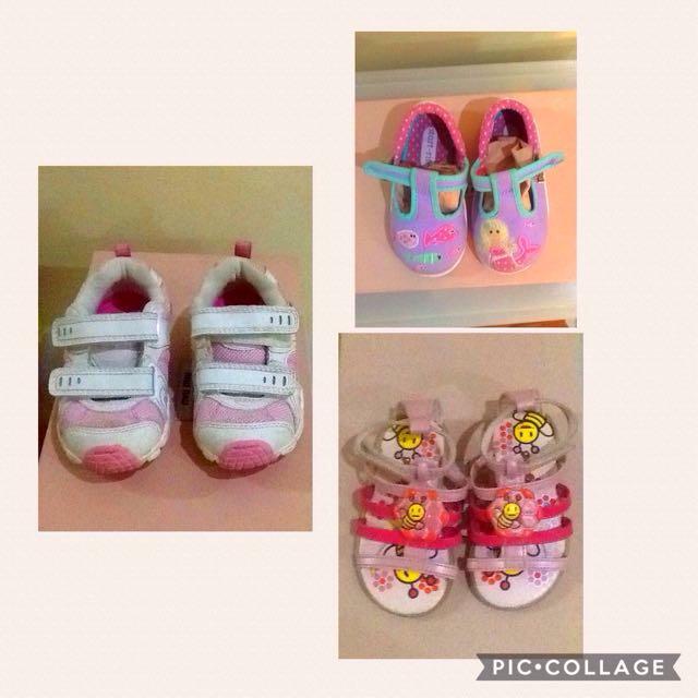Stride rite shoes / Grendha sandals / start-rite for kids