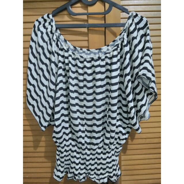 Stripe loose top