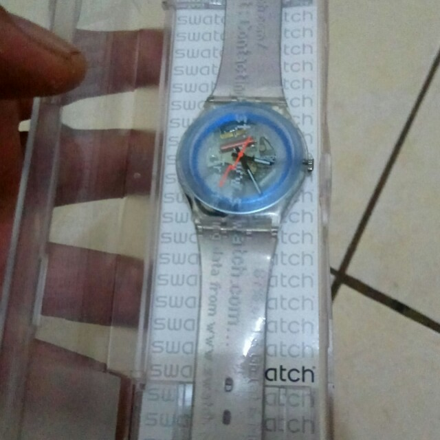 Swatch transparan