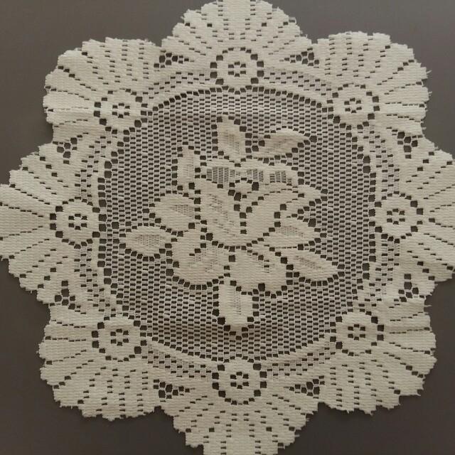 Taplak Meja Model Renda Crochet Rajutan By Machine not Handmade