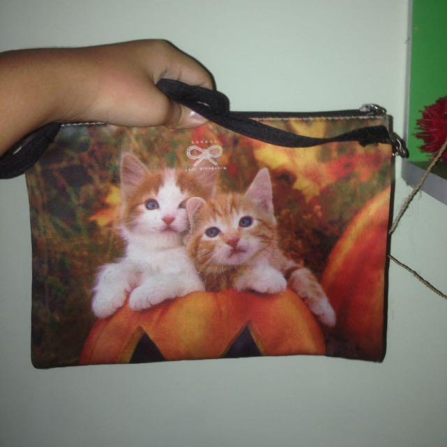 Tas motif kucing