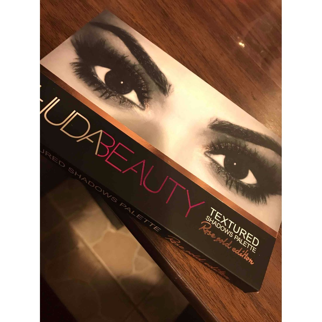 [SWAPS ONLY] Huda Beaty Eye Shadow Pallet | Rose Gold Edition