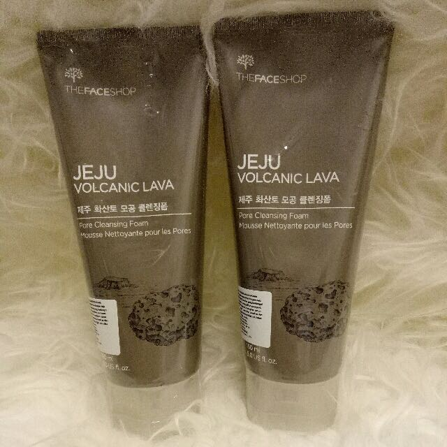 The Face Shop Jeju Volcanic Lava Pore Cleansing Foam 150ml