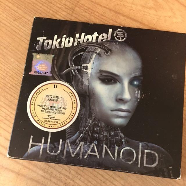 Tokio Hotel Humanoid CD & DVD